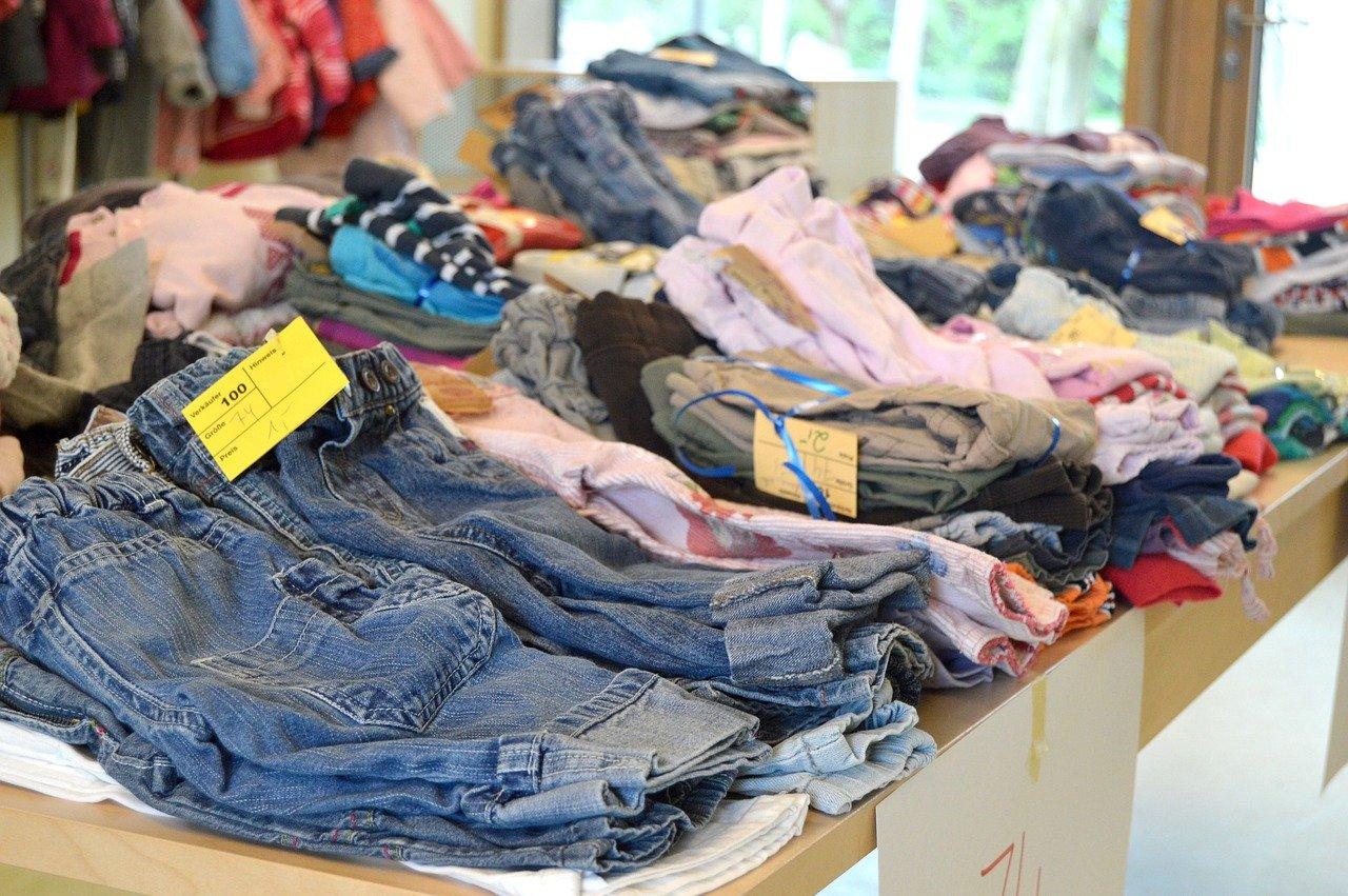invertir en ropa de segunda mano